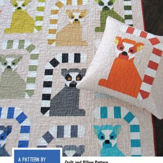photo of Lana Lemur Quilt Kit on Shop Where I Live